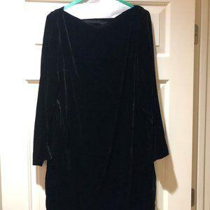 COS Black Velvet Dress NWT